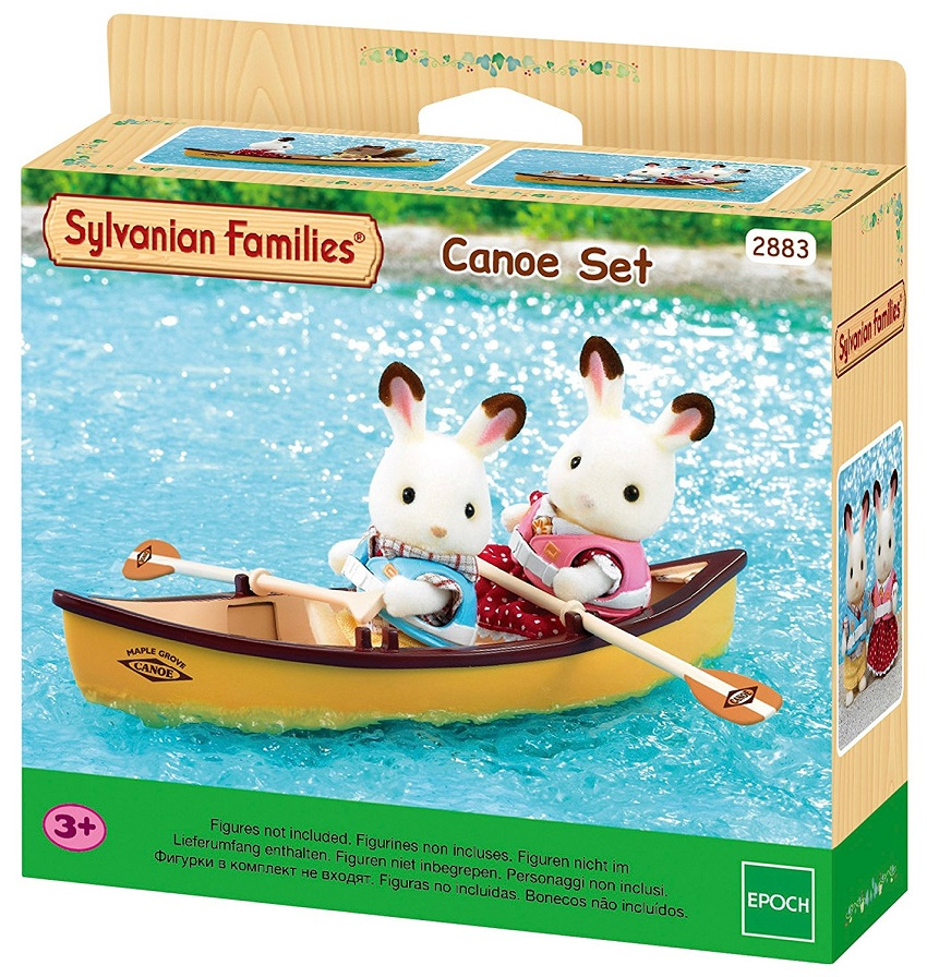 набор sylvanian families лодка