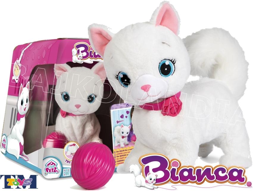 Tm Toys Interaktywny Kotek Bianca 095847