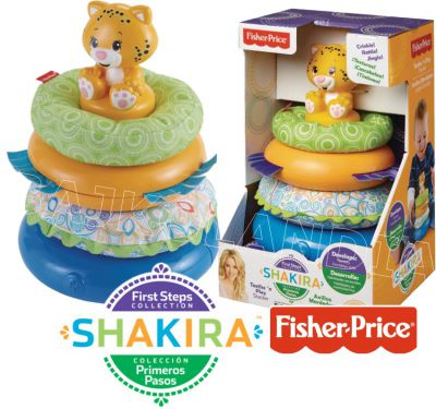 FISHER PRICE SHAKIRA MIĘKKA PIRAMIDKA CJV20
