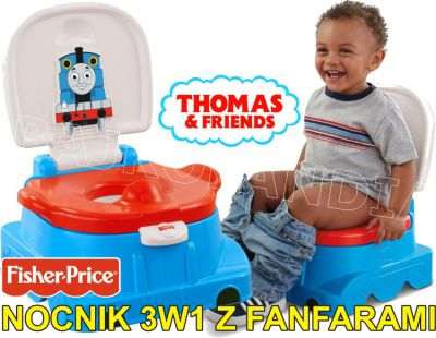 FISHER PRICE THOMAS NOCNIK 3W1 Z FANFARAMI BDY85