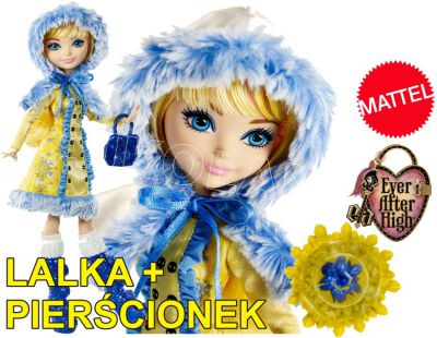 EVER AFTER HIGH ZIMA WSZECH BAŚNI BLONDIE DKR66