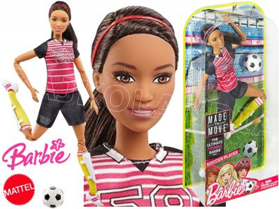 BARBIE LALKA MADE TO MOVE SPORTOWE FCX82