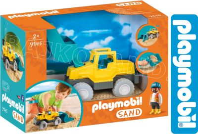 PLAYMOBIL KOPARKA DO PIASKU 9145