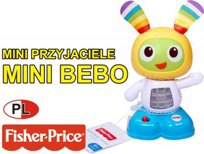 FISHER PRICE MINI BEBO 16CM ŚPIEWA PL FFF46