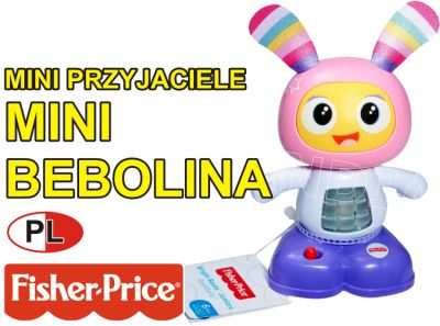 FISHER PRICE MINI BELLA 16CM ŚPIEWA PL FFF47