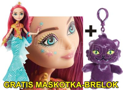 EVER AFTER HIGH BAJKOWI UCZNIOWIE MEESHELL DHF96 + MASKOTA