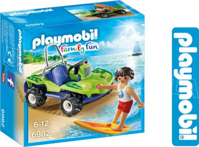 PLAYMOBIL SURFER Z BUGGY 6982