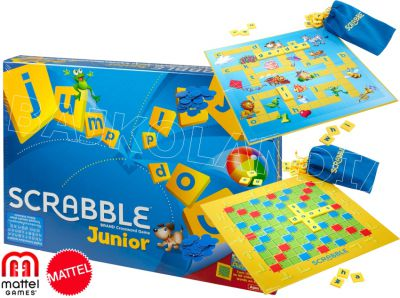 MATTEL GRA SCRABBLE JUNIOR PL Y9735