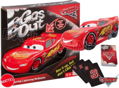 MATTEL CARS AUTA GRA GAS OUT FFK03