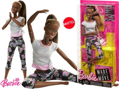 BARBIE LALKA MADE TO MOVE KWIECISTE FTG83