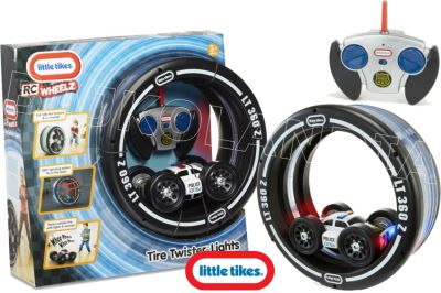 LITTLE TIKES TIRE TWISTER AUTO RC POLICJA 643309