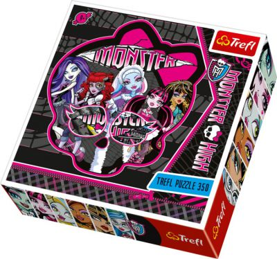 TREFL PUZZLE MONSTER HIGH 350 EL KONTUROWE 39092