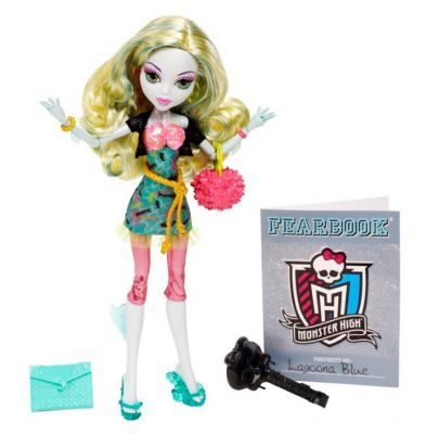 MONSTER HIGH UPIORNI UCZNIOWIE LAGOONA BBJ78