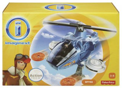 FISHER PRICE IMAGINEXT HELIKOPTER BDY45