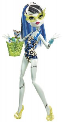 MONSTER HIGH UPIORY NA BASENIE FRANKIE STEIN BBR80