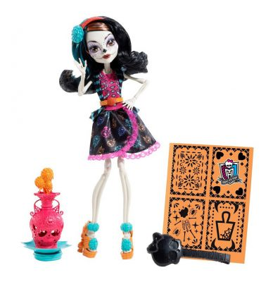 MONSTER HIGH UPIORNA SZTUKA SKELITA BDF14