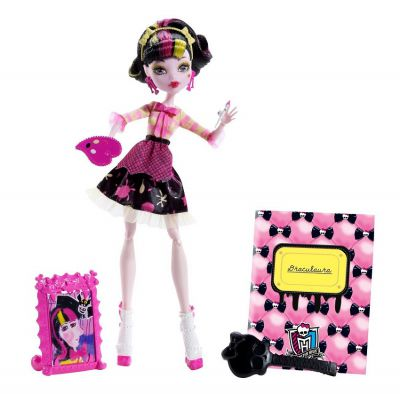 MONSTER HIGH UPIORNA SZTUKA DRACULAURA BDF12