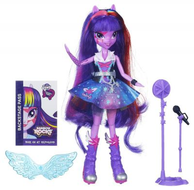 MLP EQUESTRIA GIRLS PIOSENKARKA TWILIGHT SPARKLE A6780
