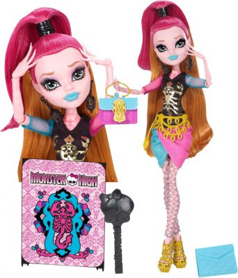 MONSTER HIGH NOWY SEMESTR GIGI GRANT BJM69
