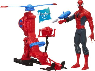 HASBRO SPIDER-MAN SPIDERCOPTER Z 30CM SPIDERMAN`EM A6747