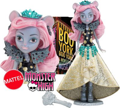 MONSTER HIGH GWIAZDY BOO YORKU MOUSEDES KING CHW61