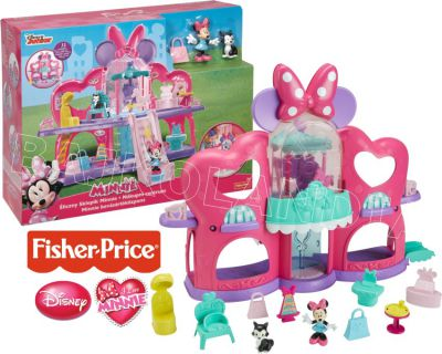FISHER PRICE MINNIE MOUSE ŚLICZNY SKLEPIK MINNIE CJG82