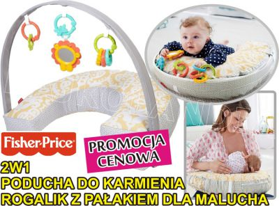 FISHER PRICE ROGALIK DO KARMIENIA 4W1 DGY01
