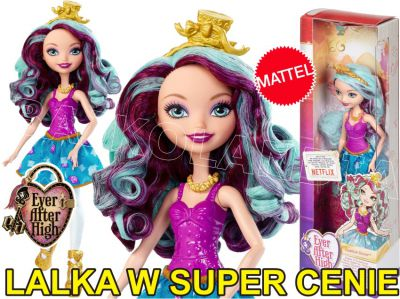 EVER AFTER HIGH LALKI PODSTAWOWE MADELINE DMJ76