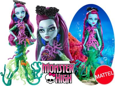MONSTER HIGH UPIORKI Z GŁĘBIN POSEA REEF DHB48