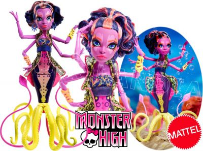 MONSTER HIGH UPIORKI Z GŁĘBIN KALLA MERRI DHB49