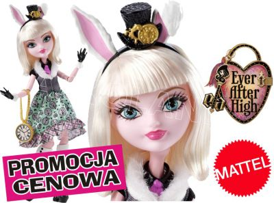 EVER AFTER HIGH BAJKOWI UCZNIOWIE BUNNY BLANC CDH57
