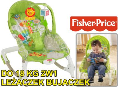 FISHER PRICE LEŻACZEK BUJACZEK DO 18KG BCD28