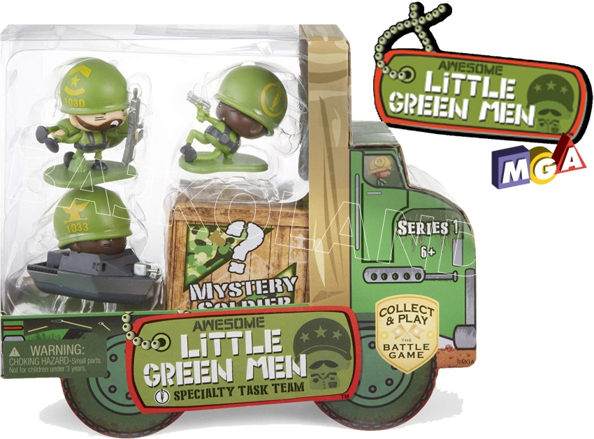 AWESOME LITTLE GREEN MEN 4-PAK 549178 ASORT 547969