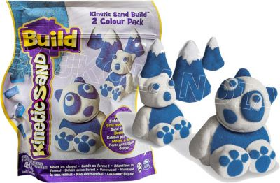 KINETIC SAND BUILD PIASEK SASZETKA 2 KOLORY 768132