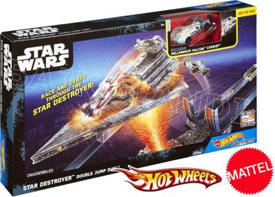 HOT WHEELS STAR WARS TOR PODWÓJNY SKOK DPV37