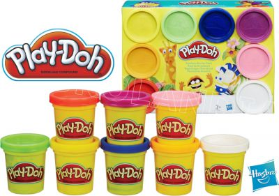 PLAY DOH CIASTOLINA 8 TUB 448G A7923