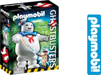 PLAYMOBIL POGROMCY STAY PUFT MARSHMALLOW MAN 9221