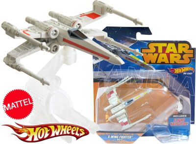 HOT WHEELS STAR WARS STATEK X-WING FIGHTER CGW67