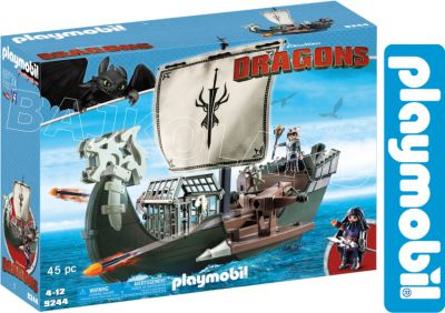 PLAYMOBIL SMOKI DUŻY STATEK DRAGOS 9244