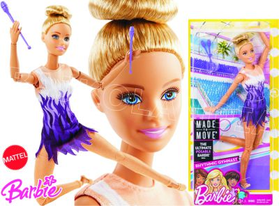 BARBIE MADE TO MOVE SPORTOWE FJB18