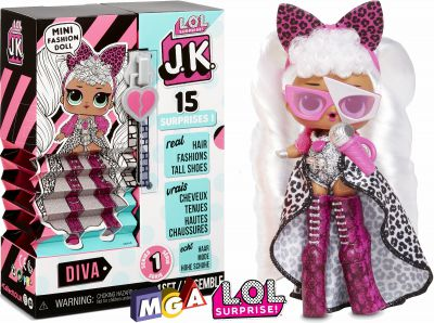 LOL JK MINI LALKA FASHION 570745 DIVA 570752