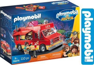 PLAYMOBIL THE MOVIE FOOD TRUCK DEL`A 70075