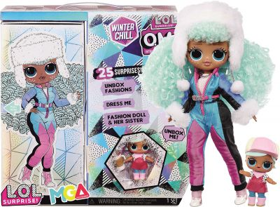LOL OMG WINTER CHILL ICY GURL Z SIOSTRĄ 570240