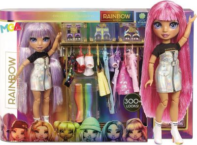 RAINBOW HIGH FASHION STUDIO Z LALKĄ 571049