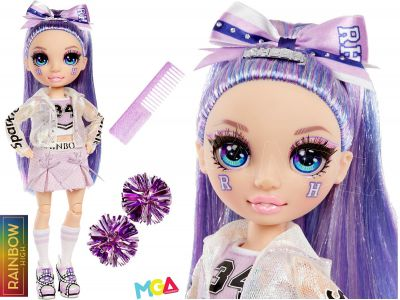 RAINBOW HIGH CHEER LALKA VIOLET WILLOW 572084