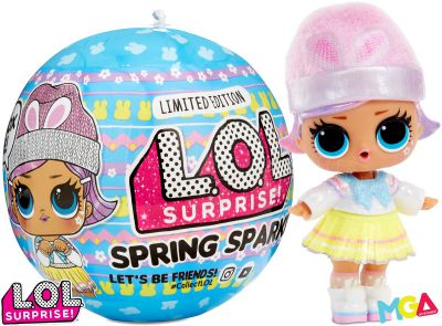 LOL SURPRISE SPRING SPARKLE BLUE LALECZKA 574477
