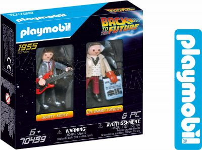 PLAYMOBIL BACK TO THE FUTURE MCFLY DR. BROWN 70459
