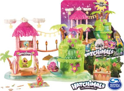 HATCHIMALS TROPICAL PARTY ŚWIATŁO DŹWIĘK S4 6044052