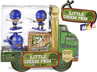AWESOME LITTLE GREEN MEN 4-PAK 549178 ASORT 547983