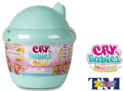 CRY BABIES MAGIC TEARS LALKA DOM TURKUSOWY 98442